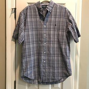 Ralph Lauren Polo Blaire Short Sleeve Shirt Mens S